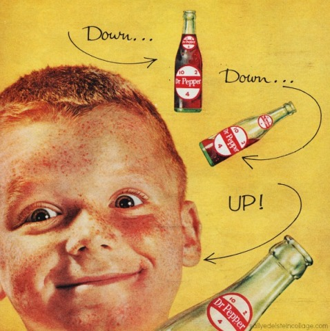 soda ad dr pepper boy 1960s