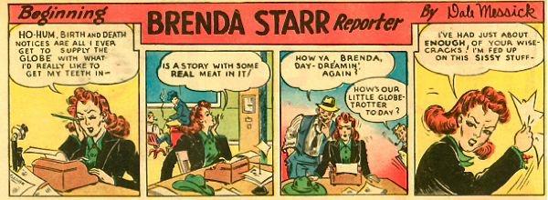 Brenda Starr comic strip