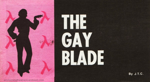 "Vintage Comic 1972 ""Gay Blade"" Chick Publications"