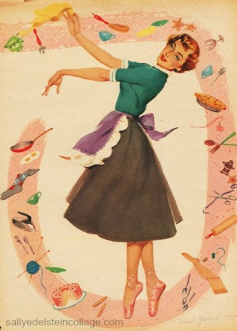 1950s Housewife 1950s illustration
