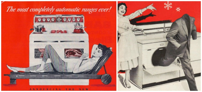 vintage ads 1950s housewives