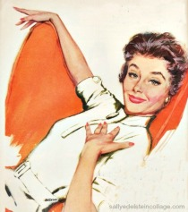 1950s Housewife vintage ad