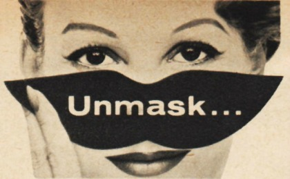 housewife mask 1950