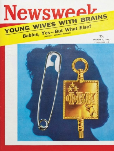 vintage newsweek magazine cover womens issues