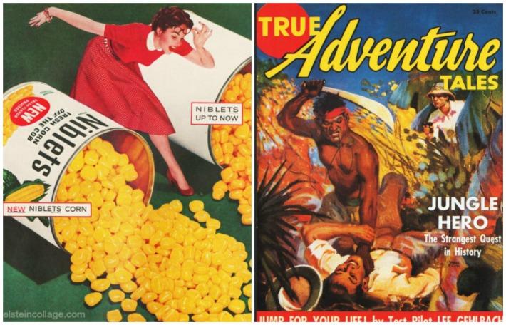 vintage pulp magazine vintage ad Green Giant