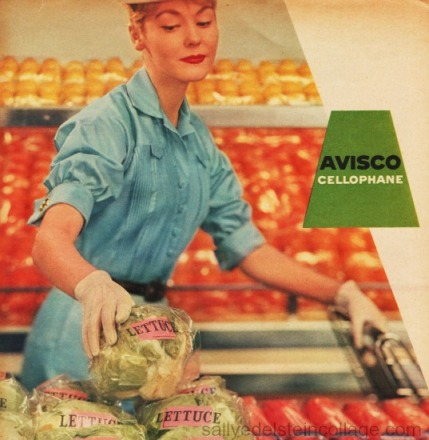 shopping supermarket  housewife 1950s