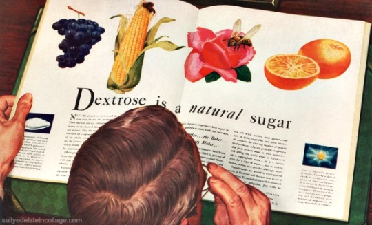 vintage ad 1940s sugar dextrose