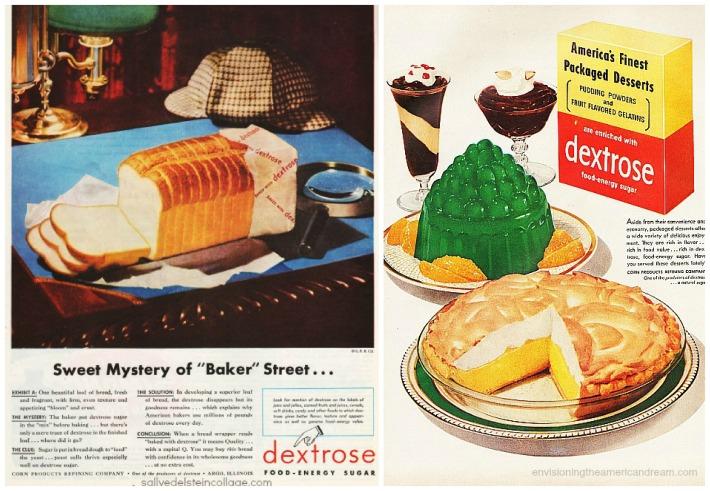 sugar dextrose bread packaged deserts
