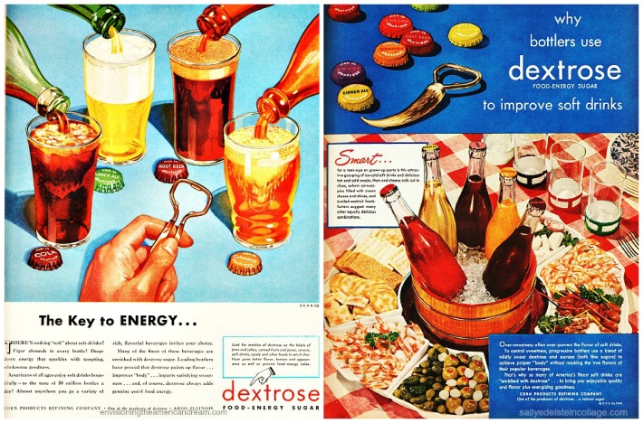 vintage ads sugar dextrose soda