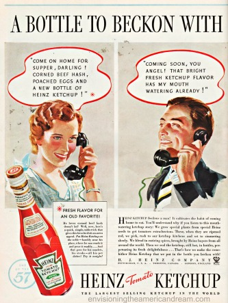 Image result for old ketchup ads