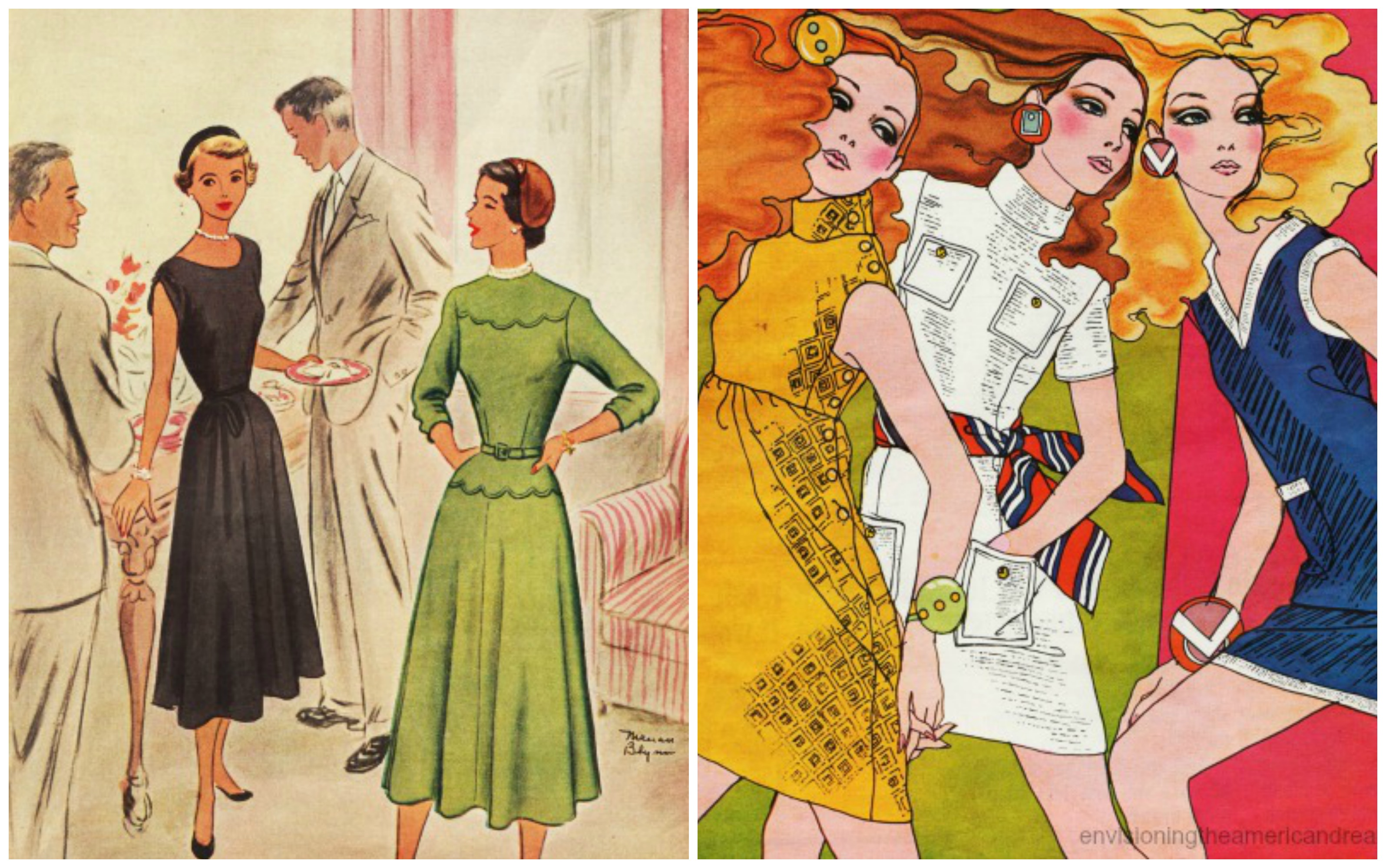 1940s fashion What did women wear in the 1940s dresses, blouses, pants, shoes, swimsuits, and jewelry all with a unique 1940s style learn more about 1940s fashion now.