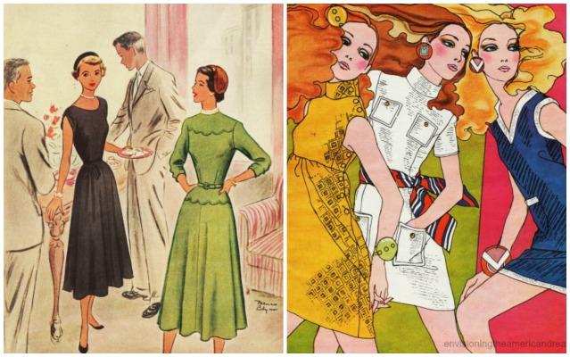 1960s Fashion 1940s Fashion