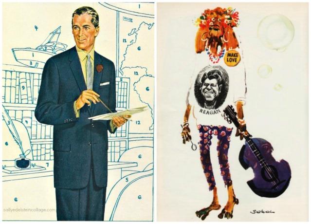 1960s hippie businessman
