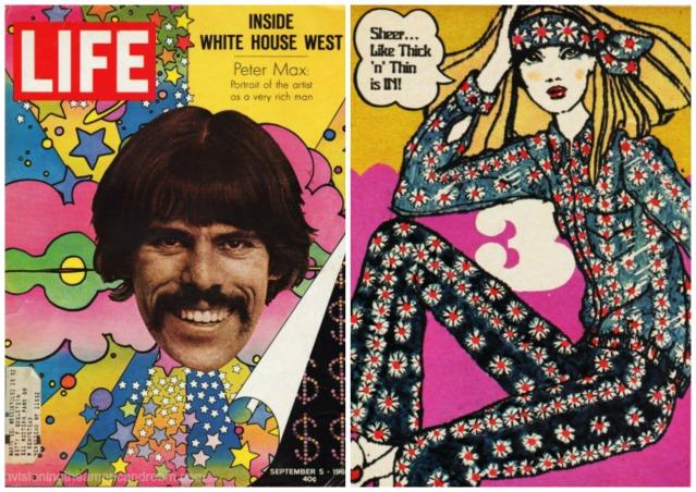 1960s peter max fashion