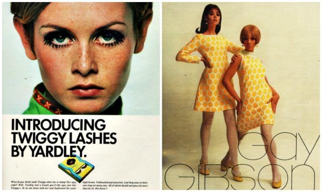 1960s Twiggy Lashes
