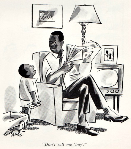 1967 Playboy cartoon Blacks