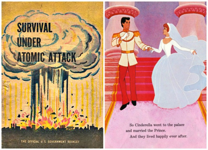 Atomic Attack Survival Fairy Tale cinderella and her prince