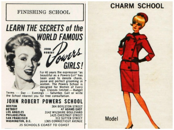 career models charm school
