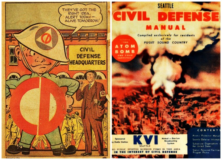 Civil Defense brochures 1950s
