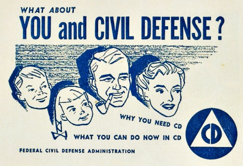 Civil Defense Booklet 1950s