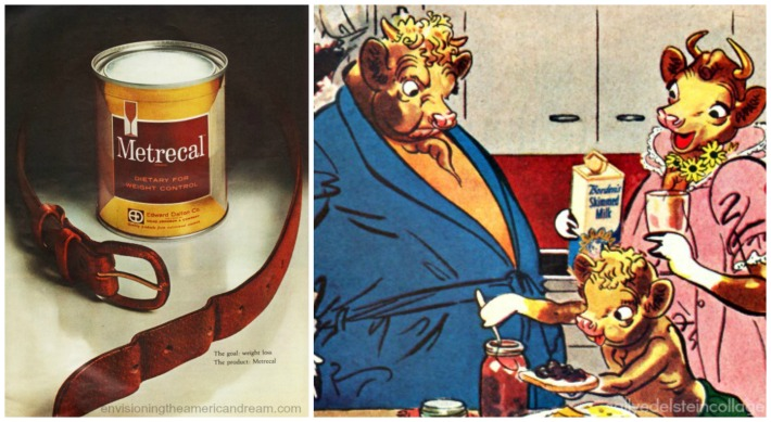 Vintage ad Diet Metrecal and Elmer
