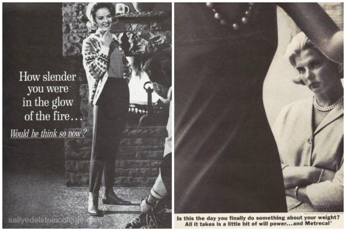 Vintage Diet Ads 1960s