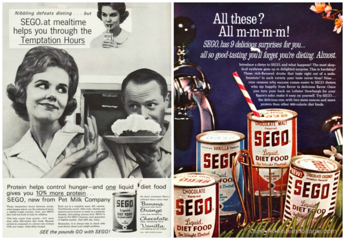 Diet Sego Ads 1960s
