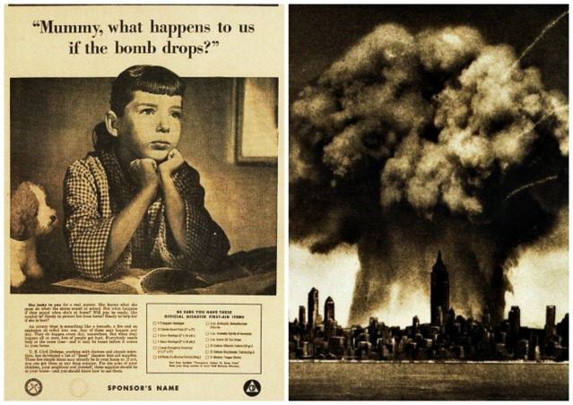 Nuclear Attack  Vintage Nuclear Bomb images