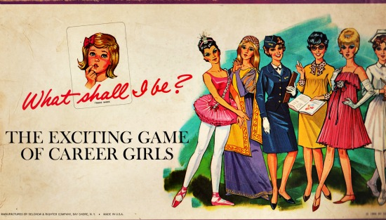 1960s toys games career girls