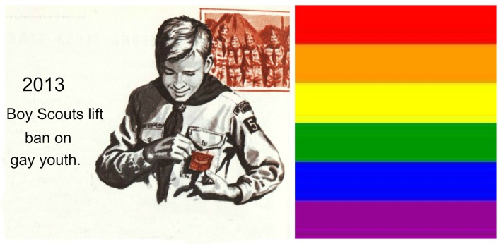 illustration Boy Scout  Gay Youth