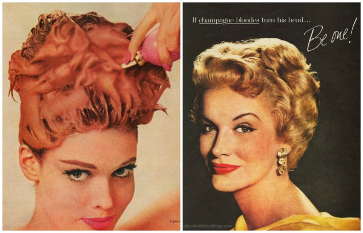 Hair care ads Blondes Beauty
