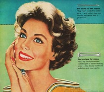 Jon Whitcomb illustration ad pin it 1958