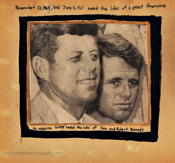 Kennedy Brothers newspaper photo