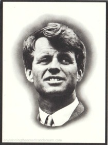 Kennedy Funeral Card