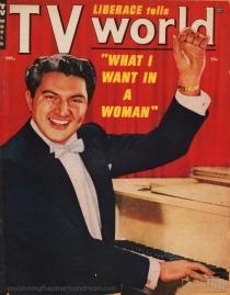 Liberace Magazine Cover 1950s