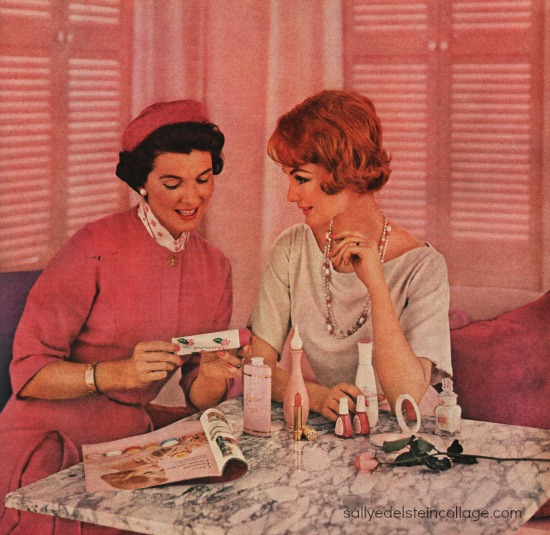 Beauty Avon Lady Ad 1962