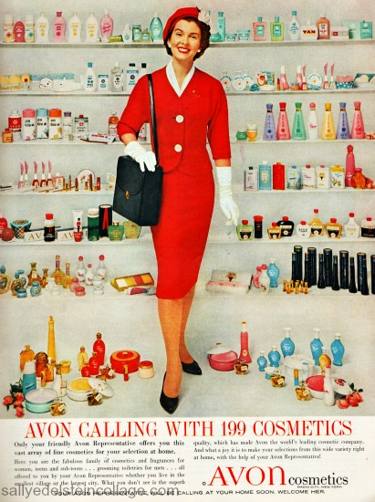 photo Avon Lady ad 1960
