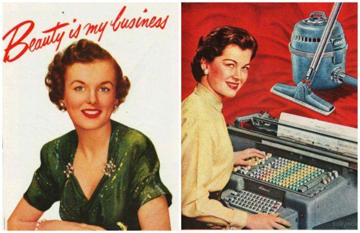 Beauty is my business women careers secretary