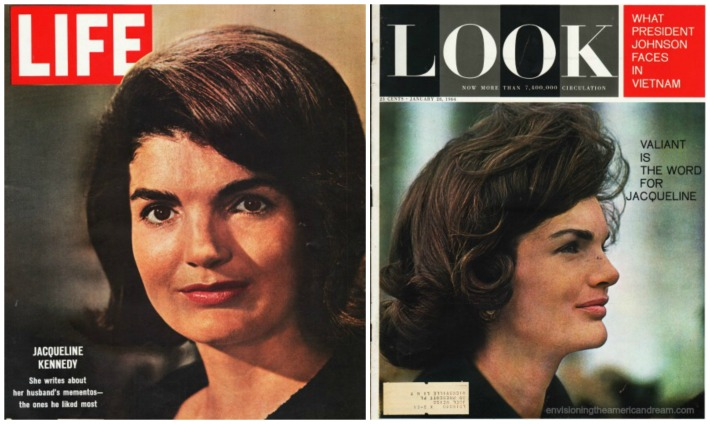 Jackie Kennedy Magazine covers  1964