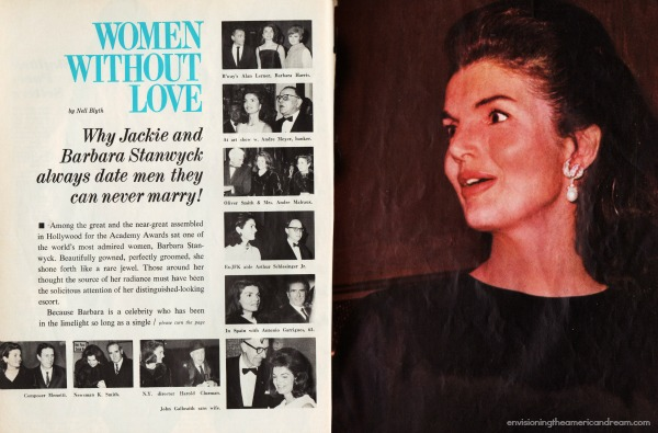 Jackie Kennedy  Motion Picture Magazine article 1967