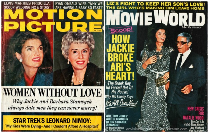 Jackie Kennedy  Movie magazines