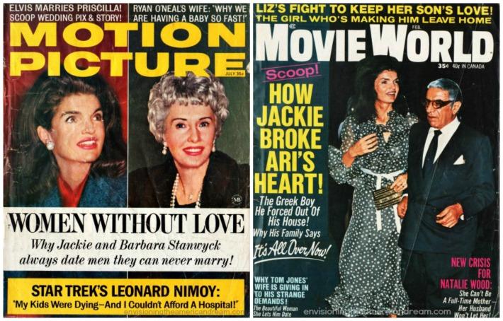 Jackie Kennedy  Movie magazines