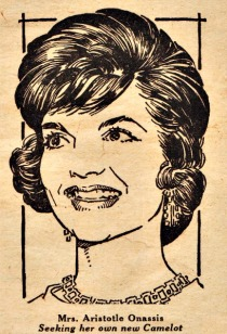 Illustration Jackie Onassis