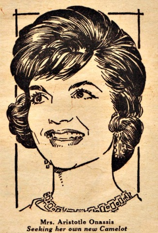 Jackie Onassis illustration