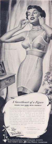6ac6aab7c83 ... Permalift Bra 1951Vintage Lingerie Ad Formfit Life Bras 1951Vintage Ad  Formfit Bra 1953Vintage Ad Formfit Bra 1953Vintage Lingerie Ad Formfit Bras  1953