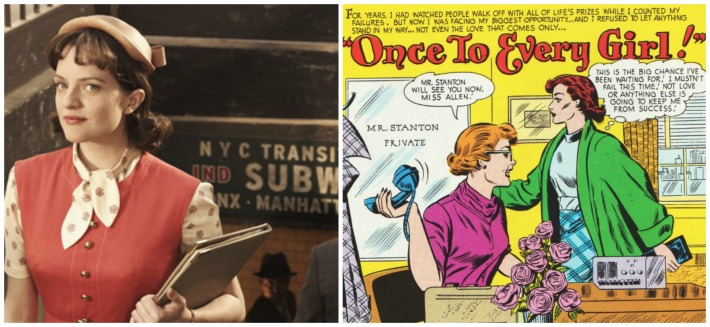 Peggy Mad Men Comic career girl