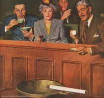 vintage illustration jury