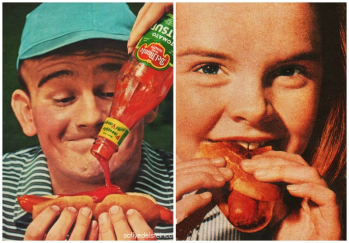 food ads Hot Dogs Faces