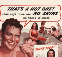 vintage ad wieners