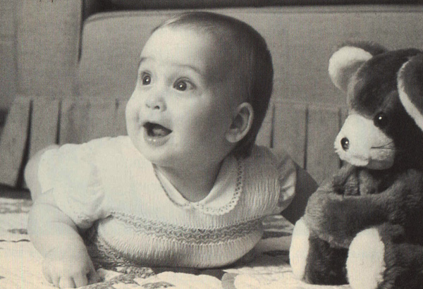 Prince William as a baby 1982